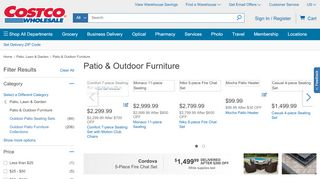 Costco Patio Furniture Moncton