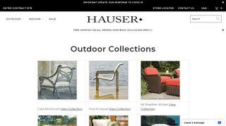 Hauser Furniture Burlington